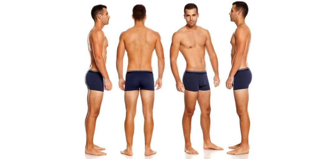 Men's Underwear Size Chart
