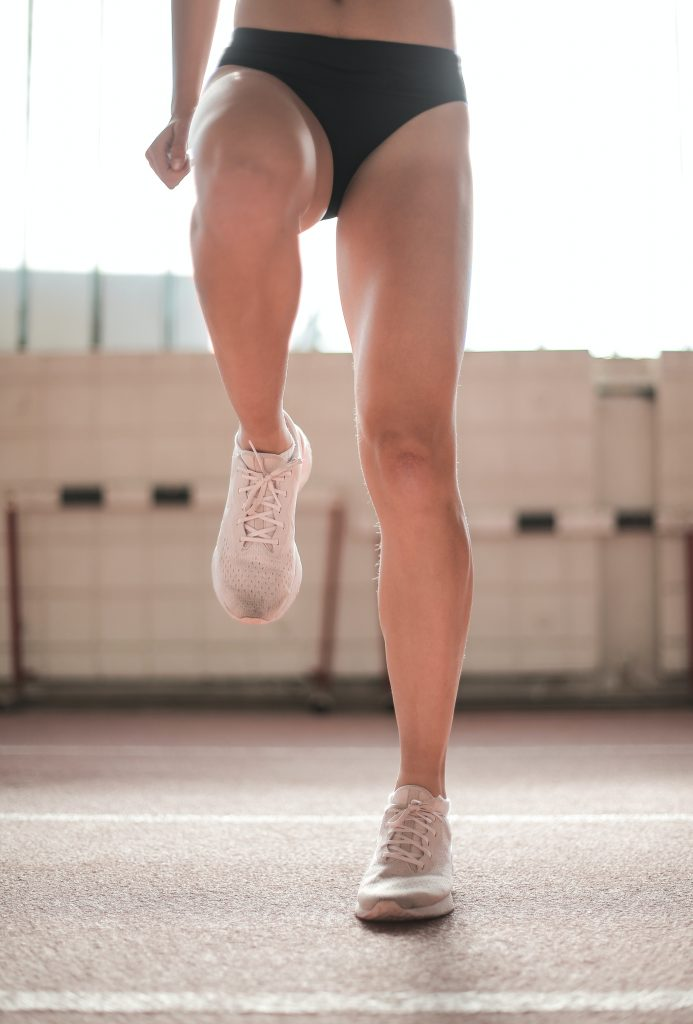 running in thongs female